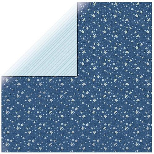 Scrapbookingpapier Star-Light, 30,5x30,5cm, 220g/m2, mit Folie