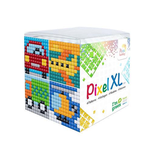 Pixel XL Würfel Transport - vier Sujets