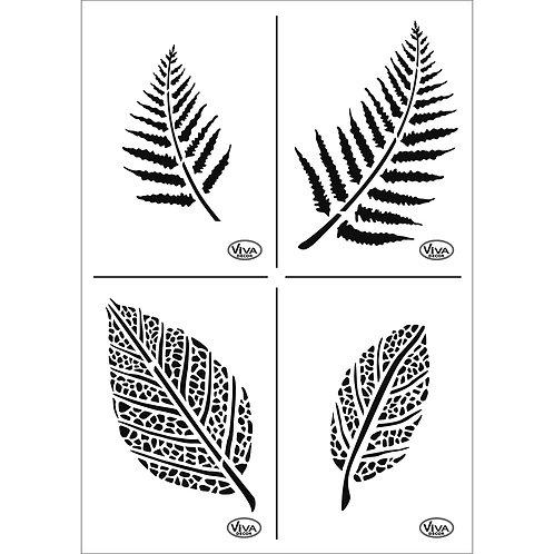 Universal Schablone A4 Blätter