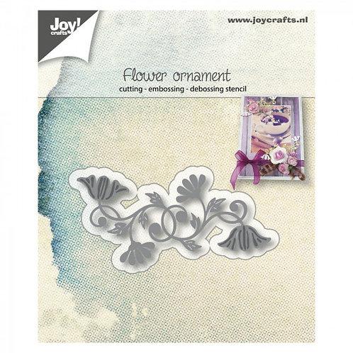 Joy Stanzschablone Blumen Ornament