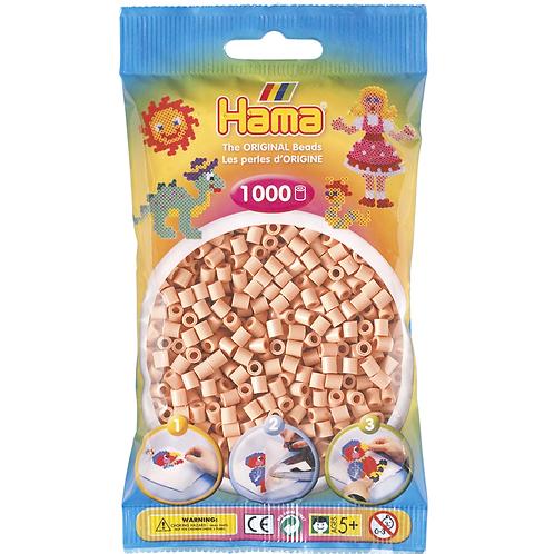 Midi Perlen 5mm in Beutel, 1000 Perlen hautfarbe