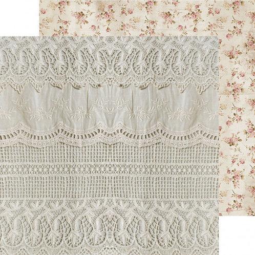 Kaisercraft paper 30,5x30,5cm Romantique lacy