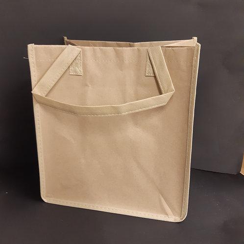 Tasche mit Boden Recycling Papier 31x33x21cm, Volumen 23 l