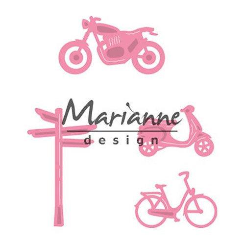 Marianne Design Stanzschablone Zweiradfahrzeuge