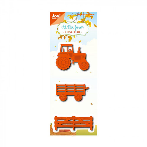 Joy!Crafts  Stanzschablone Traktor