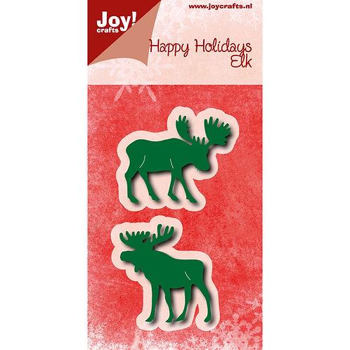Joy!Crafts Cutting dies Happy Holidays Elk