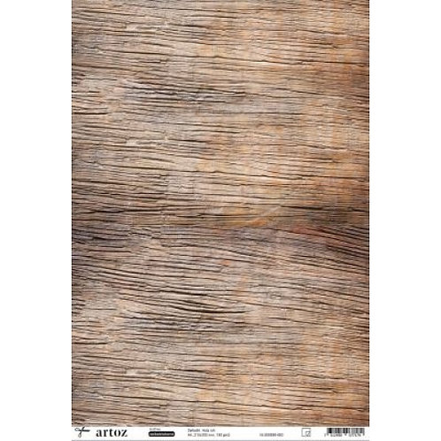 Artoz Papier selbstklebend, Holz roh, A4 180 gm2