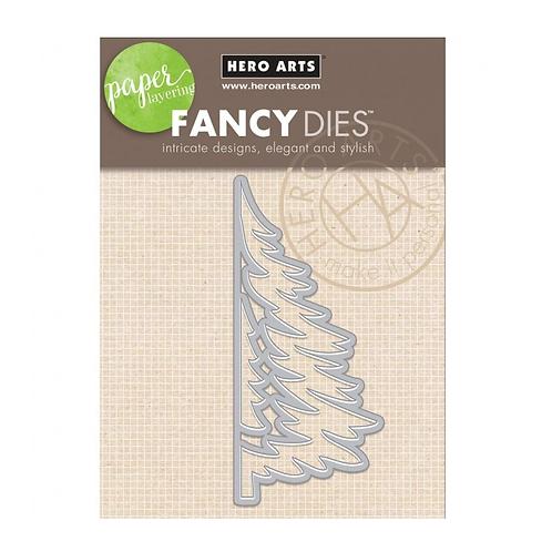 Hero Arts - Paper Layering Tree Stanzschablone,  4.3 x 9.8 cm