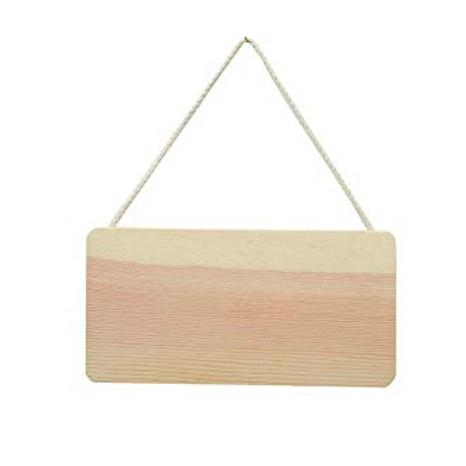 Holz Schild zum Aufhängen 21x11cm