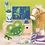 Thumbnail: Mega Bastelbox Fantasy 1.000 Teile blau-grün/pink-lila Töne, Box