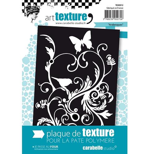 Carabelle Studio  Stempel Textur 9x14cm Arabesken
