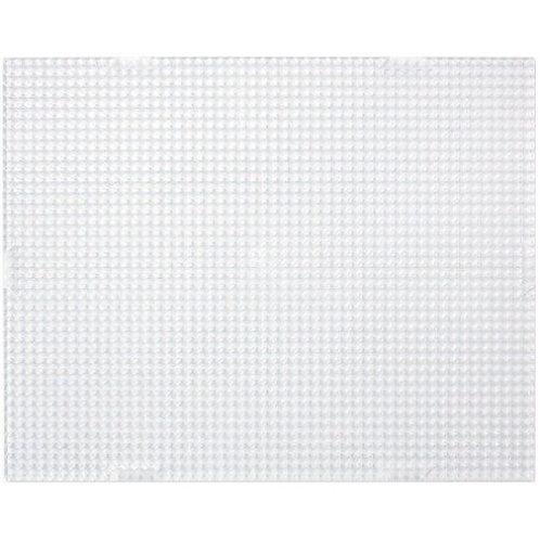 Grundplatte Rechteck  10.1x12.6cm   transparent