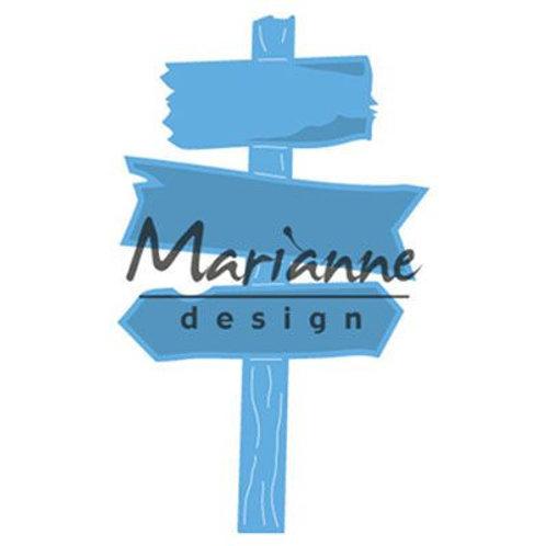 Marianne Design Creatables Stanzschablone Wegweiser aus Holz