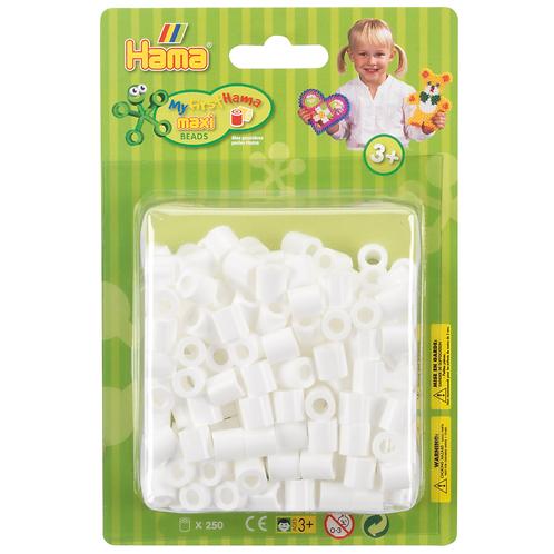 Maxi Perlen 10mm in Blister-Packung, 250 Perlen