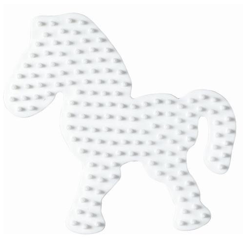 Midi Stiftplatte weiss - Pony (149 Stifte) 9x9.5cm