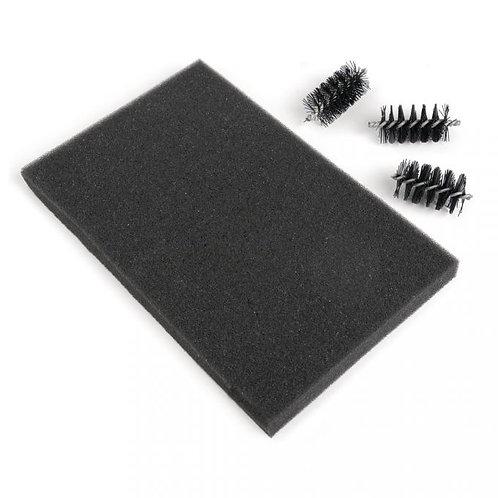 Sizzix Ersatz Brush Rollers&Foam Pad (3 Bürstenwalzen,1 Schaumstoffpolster)