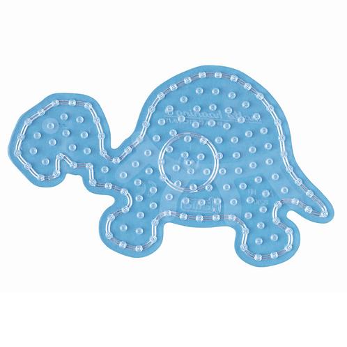 Maxi Stiftplatte transparent - Schildkröte (145 Stifte) 12x20.5cm