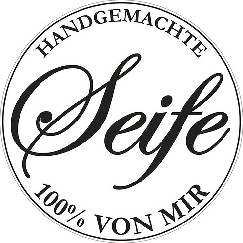 Label Handgemachte ..., 45mm ø, SB-Btl 1Stück
