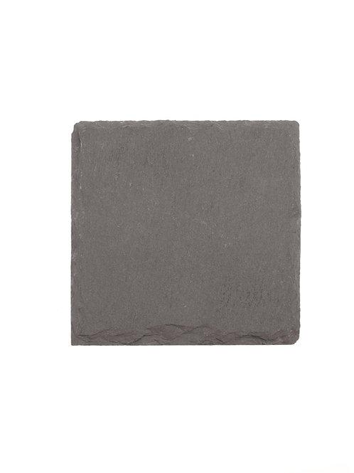 Schieferstein Quadrat 10x10x0.5cm