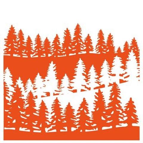 Marianne Design Prägeschablone Wald