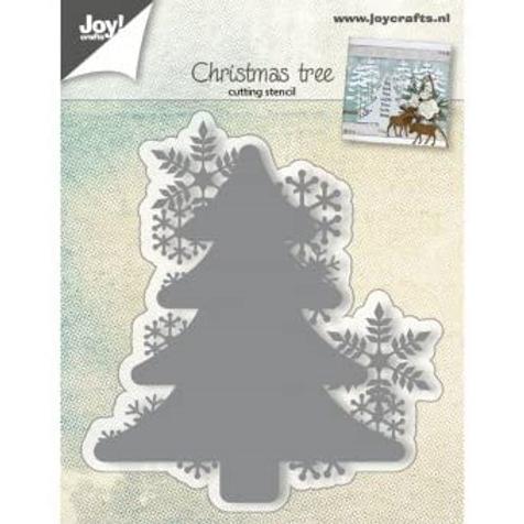 Joy!Crafts Christmas Tree with Snowflakes