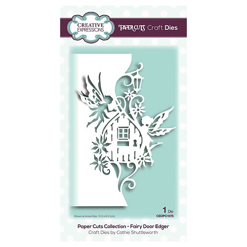 Creative Expressions Paper Cuts Stanzschablone Fairy Door