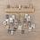 Thumbnail: Holz Adventskalender 40x3,5x12cm, +2Wandaufhänger, Box 1Stück