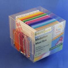 Medaillons Maxi Box (4 Schlüsselanhänger)