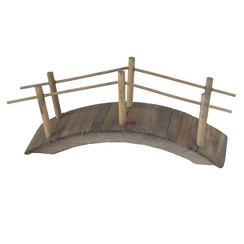 Brücke braun gebeizt 15x5cm