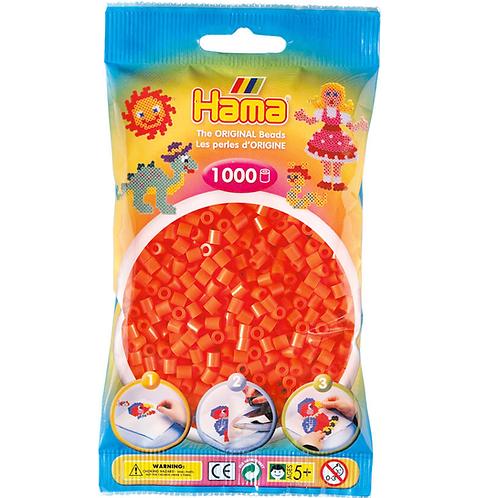 Midi Perlen 5mm in Beutel, 1000 Perlen orange