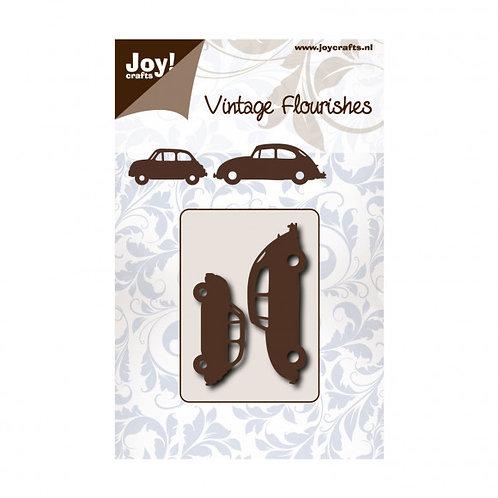 Joy Stanzschablone Vintage Fiat und VW