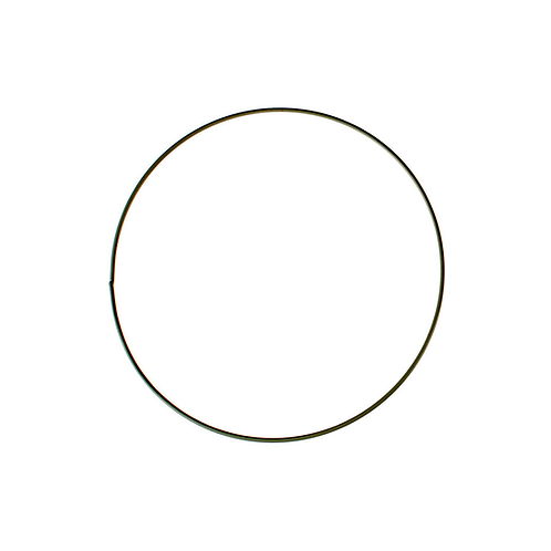 Metallring schwarz 35cm
