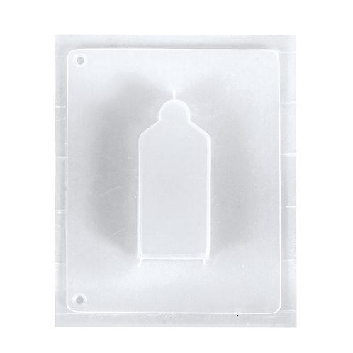 Giessform Geschenkanhänger Motivgröße 4 x 9 x 1,7 cm