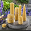 Thumbnail: Bienenwachswaben 3 Stk. 220x170mm mit Docht