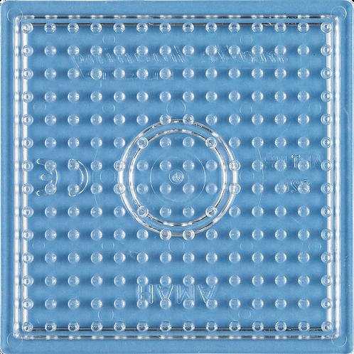 Midi Stiftplatte transparent - Kleines Quadrat (196 Stifte) 7.5x7.5cm