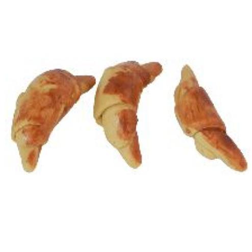 Croissant / Gipfel 1.6cm, 10St. braun/hellbraun