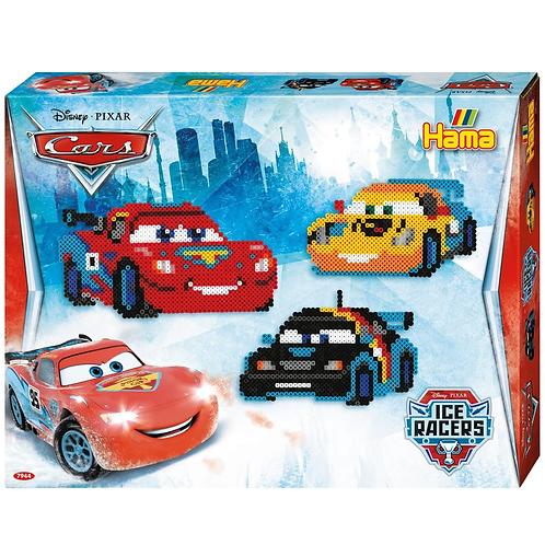 Geschenkpackung Disney Cars, 4000 Midi Perlen 5mm und Zubehör