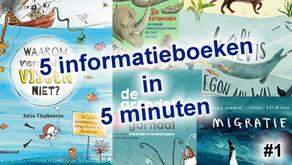 5 Informatieboeken in 5 minuten #1 | Alles over dieren!