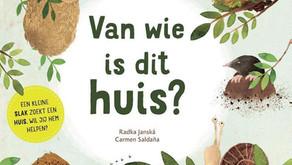 Van wie is dit...? | Boekjes over huisjes en pootafdrukken van dieren