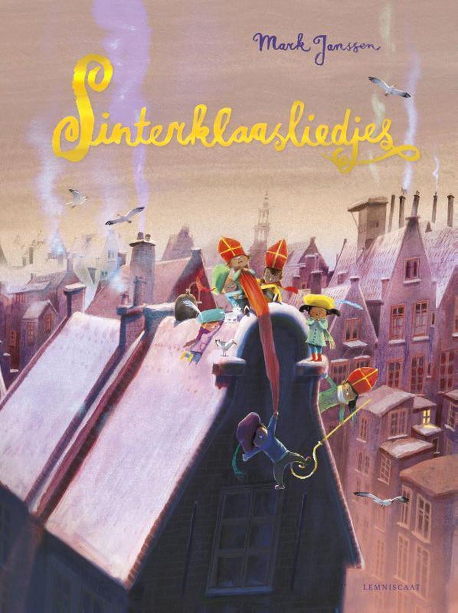 Boek Sinterklaasliedjes van Mark Janssen
