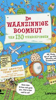 Andy Griffiths van De Waanzinnige Boomhut spreekt Nederlandse fans toe