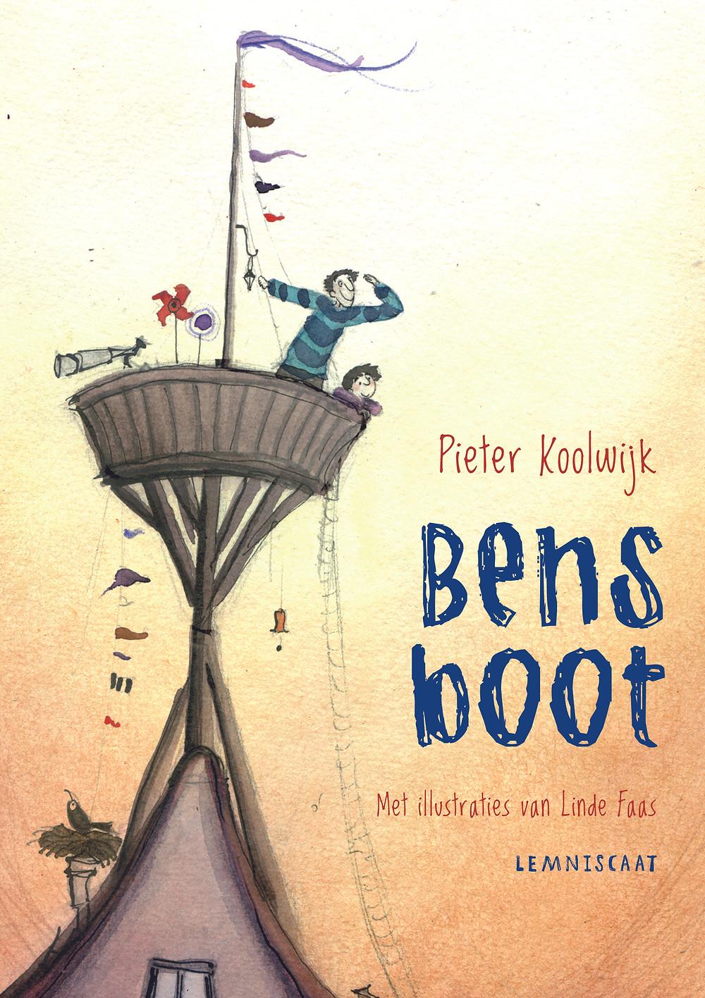 Het boek Bens Boot van Pieter Koolwijk