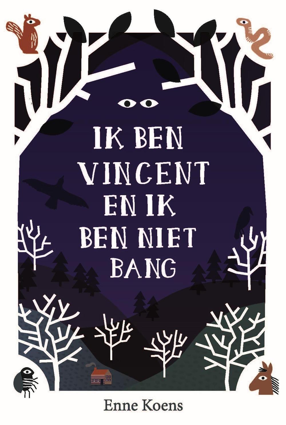 Kaft Ik ben Vincent en ik ben niet bang