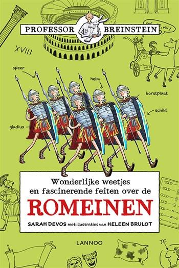 Kaft Wonderlijke weetjes en fascinerende feiten over de Romeinen!