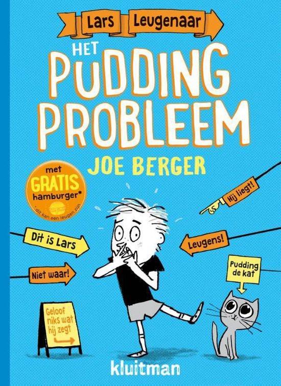 Kaft Lars Leugenaar en het Pudding Probleem