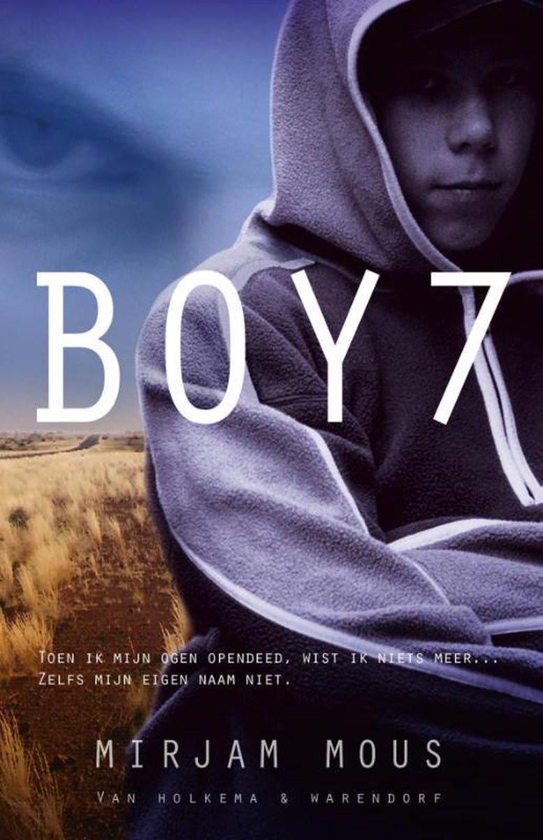 Kaft van het boek Boy 7 van Mirjam Mous