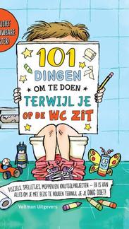 101 dingen om te doen terwijl je op de WC zit | Ideale cadeau voor de schijterd