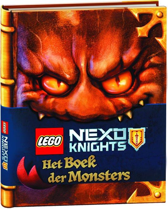 Boek LEGO NEXO KNIGHTS Het boek der Monsters