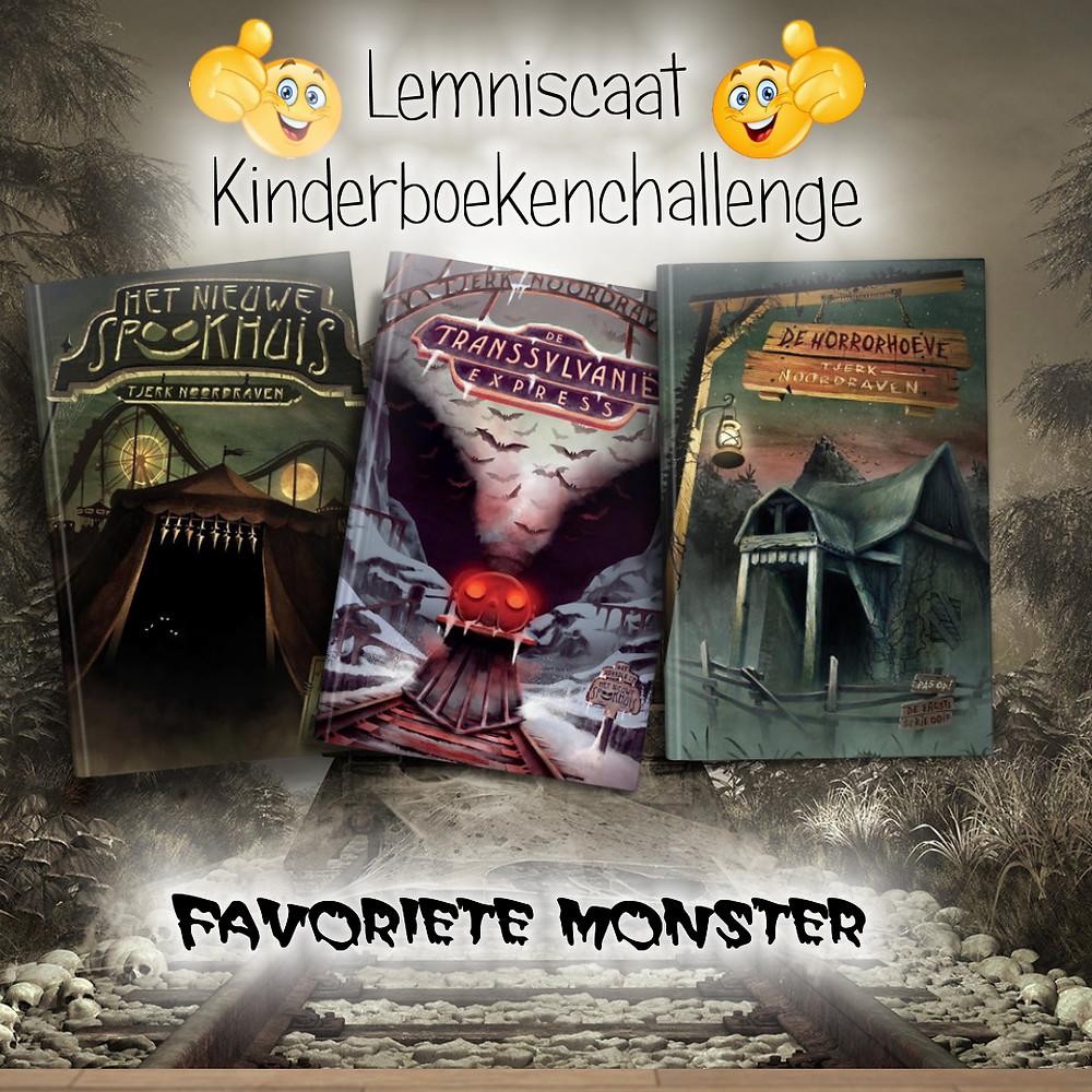 Favoriete monster in kinderboeken