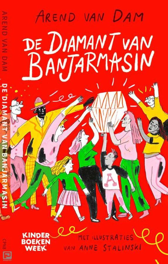 Het boek De Diamant van Banjarmasin. Kinderboekenweekgeschenk van 2020.